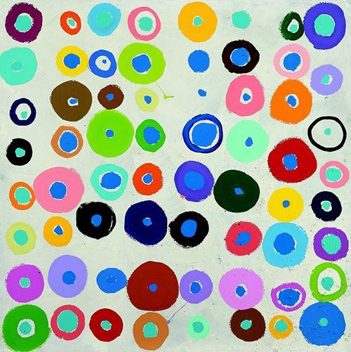 Poul-gernes-peinture-pois-abstrait-dot-painting-abstract-art