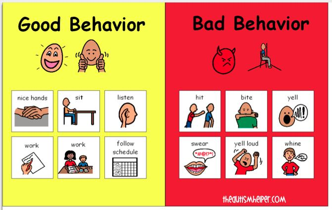 Beginning of the Year: Behaviors, Rules, & Classroom Expectations by theautismhelper.com