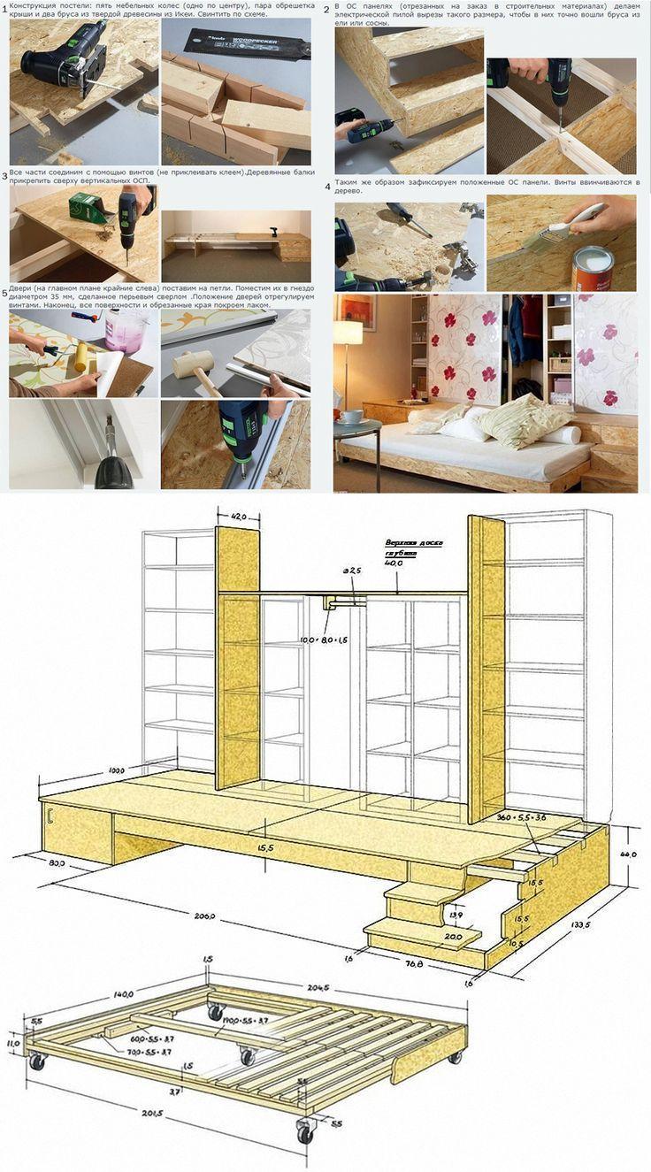 Mega Ikea Hack: Aus dem Billy und Kallax Regal wird ein Bücherregal-Lesepodest …