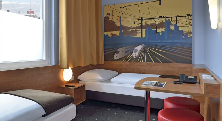 Barrierefreies Zimmer im B&B Hotel Saarbrücken-Hbf