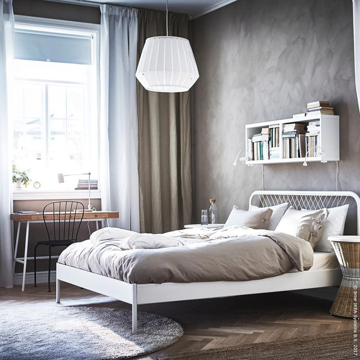 Wg Schlafzimmer Ideen Ikea Nesttun Bed Frame On Budget, Durable With Timeless