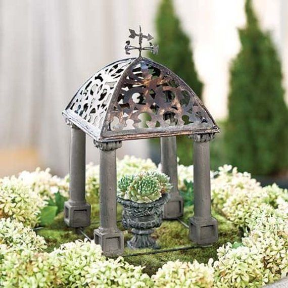 Miniature Dollhouse FAIRY GARDEN Accessories Orchard Arbor