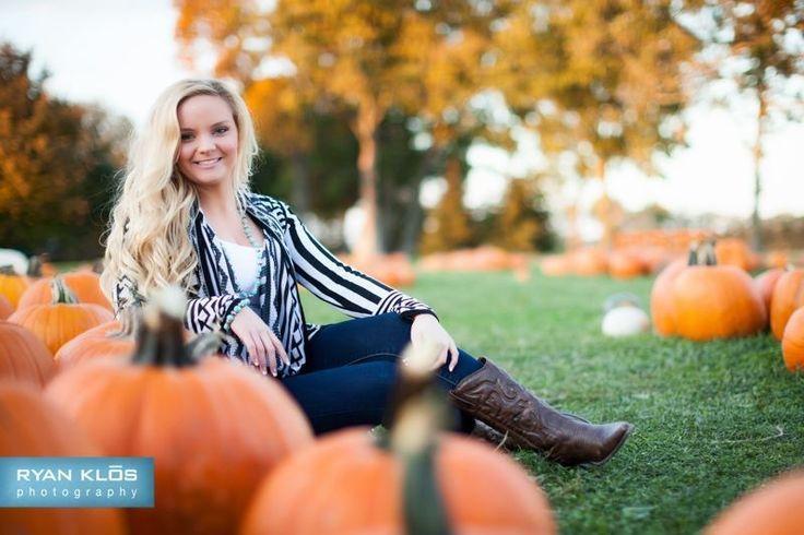 senior pumpkin patch photos - Bing Images