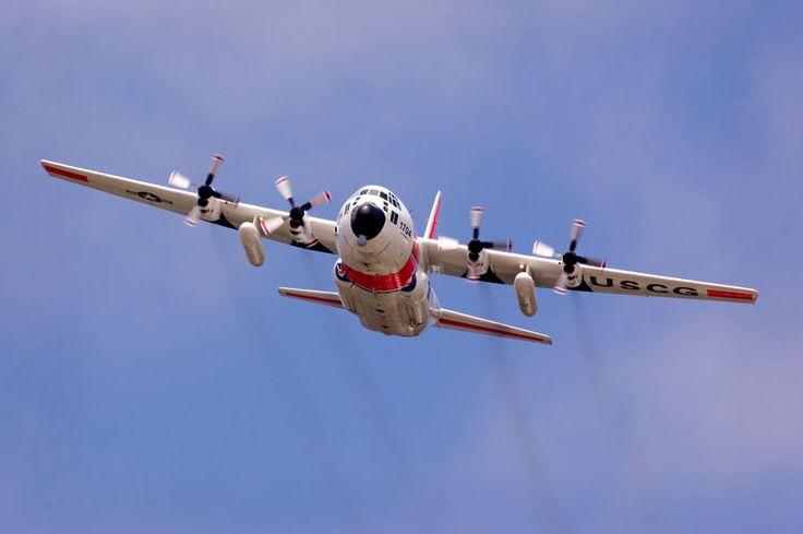U.S. Coast Guard C-130 Hercules Aircraft