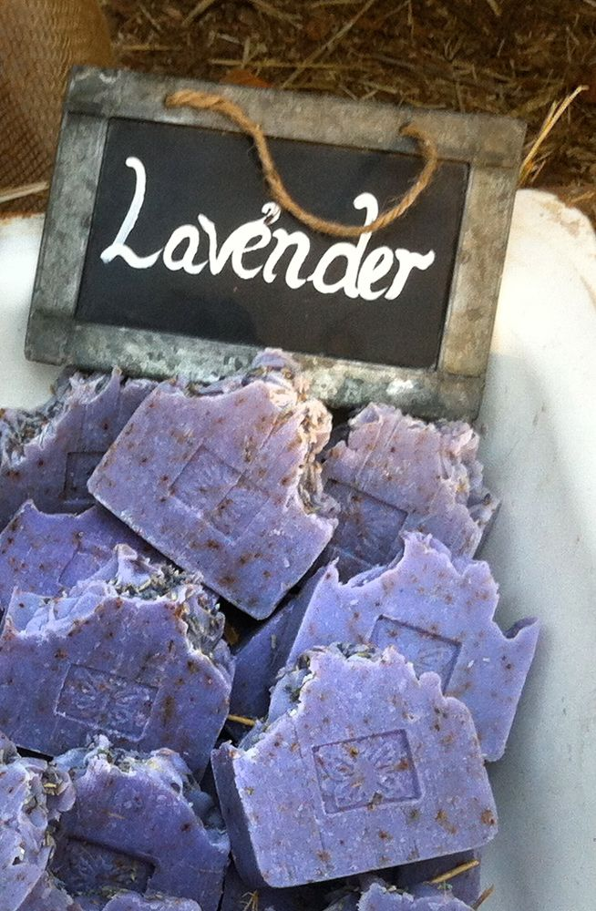 Lavender 100% all natural soap