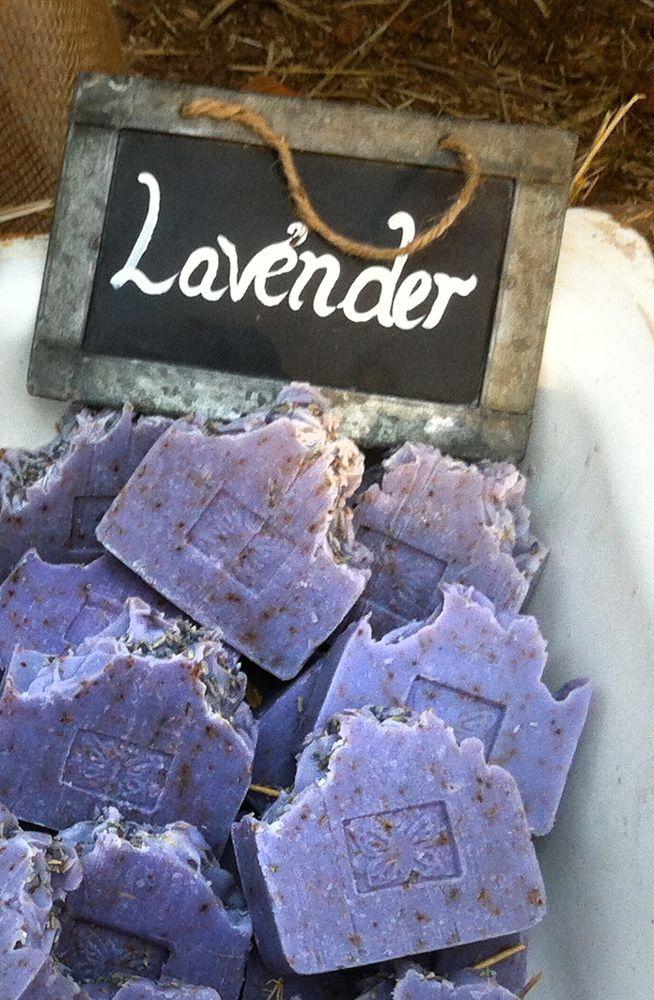 Lavender 100% all natural soap