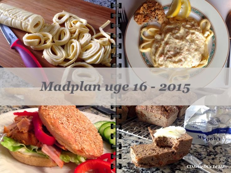 CDJetteDC's LCHF: MADPLAN uge 16 - 2015