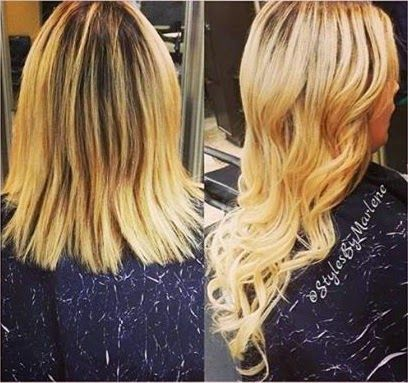 15 best hair extension videos images on pinterest hair beauty view real hair extension before and afters from glam seamless customers and see their transformation transform your look with tape in extensions pmusecretfo Images