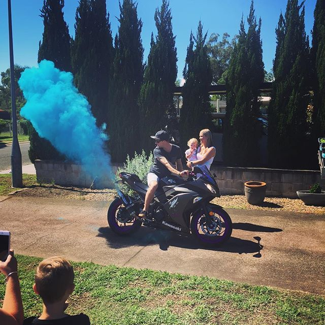 Gender Reveal of our Son