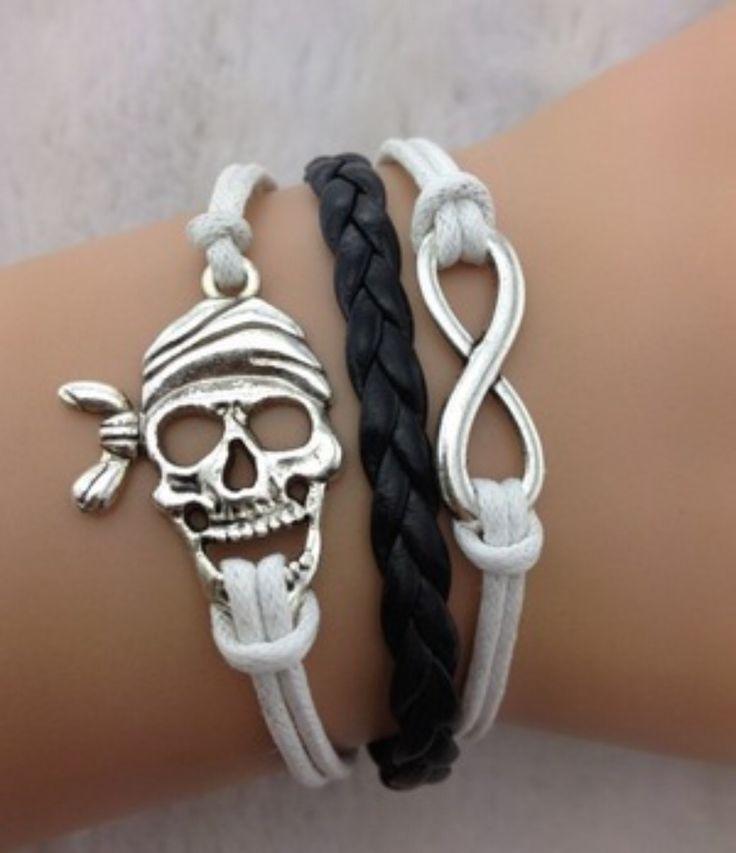 Pirate Bracelet Perfect for Gasparilla
