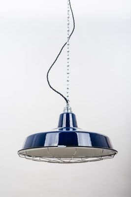 FACTORY 41 cm Loft Lamp BLUE lautentico