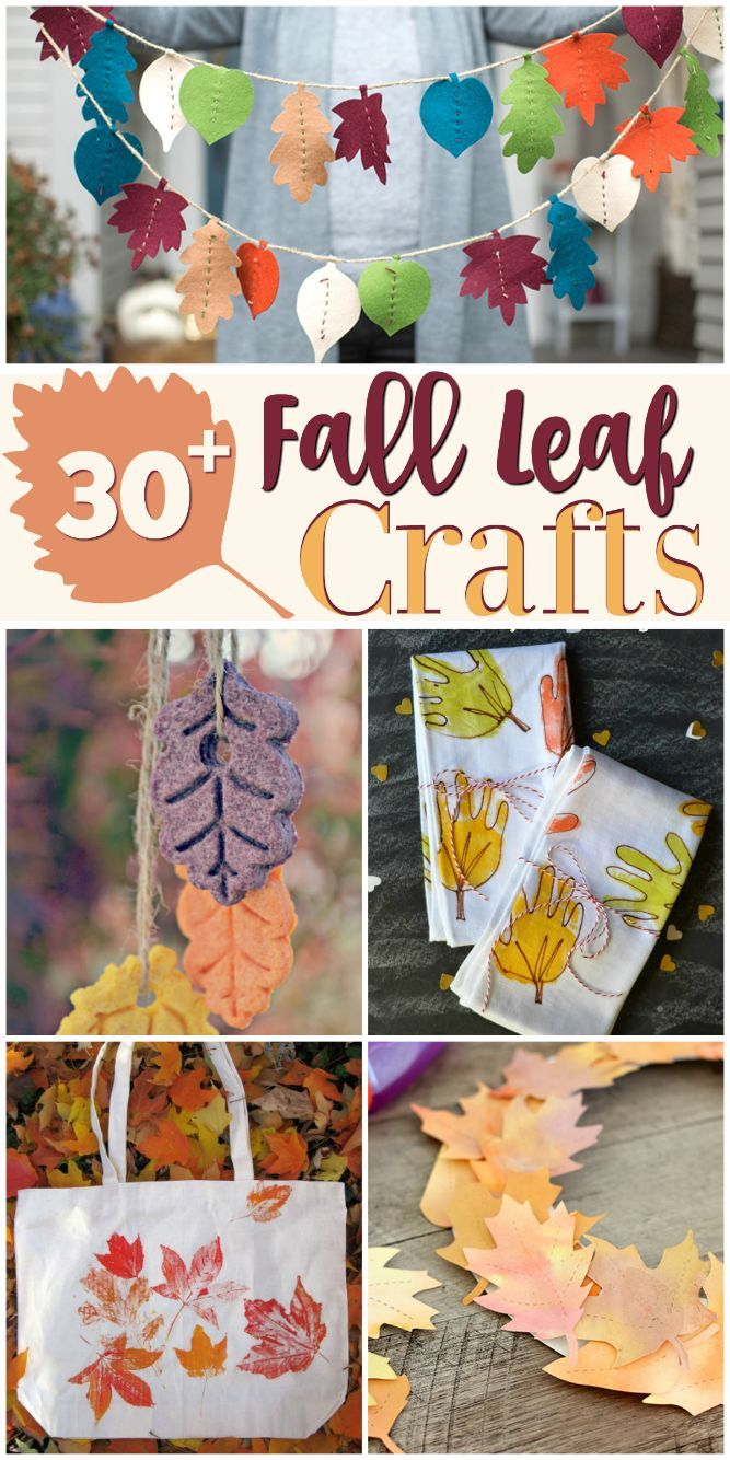 Leaves on pinterest autumn leaves fall leaves crafts and fall - Over 30 Fall Leaf Crafts For The Whole Family To Enjoy