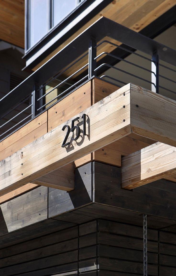 #architecture #alpine #modern #balcony - Photo by Raul J. Garcia