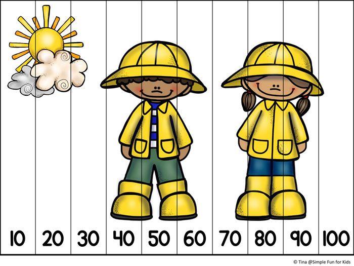 ¿Su niño en edad preescolar o jardín de niños rompecabezas amor?  Pruebe estos rompecabezas imprimibles de primavera lindo!  Incluye números para contar hasta 20 y omitir el recuento de 10s.