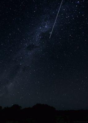 Estrellas Fugaces! ... Buenas noches...