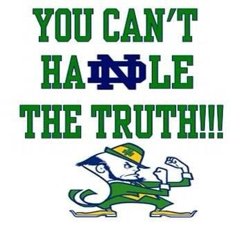 "Like the Irish? Be sure to check out and ""LIKE"" my Facebook Page https://www.facebook.com/HereComestheIrish Please be sure to upload and share any personal pictures of your Notre Dame experience with your fellow Irish fans!"
