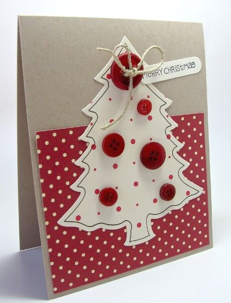 60 Handmade Christmas Cards 2016 I love Pink