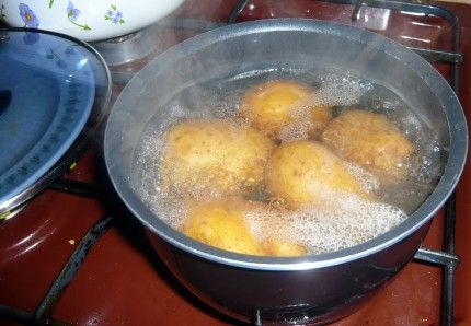 Household plants need nourishment, particularly in the dead of winter when sunlight is limited. Plants love starch, save the water you boiled your potatoes in, let it cool and use it to water your household plants.