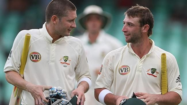 "Tribute to Phillip Hughes by Michael Clarke. ""I'll miss you forever my friend."""