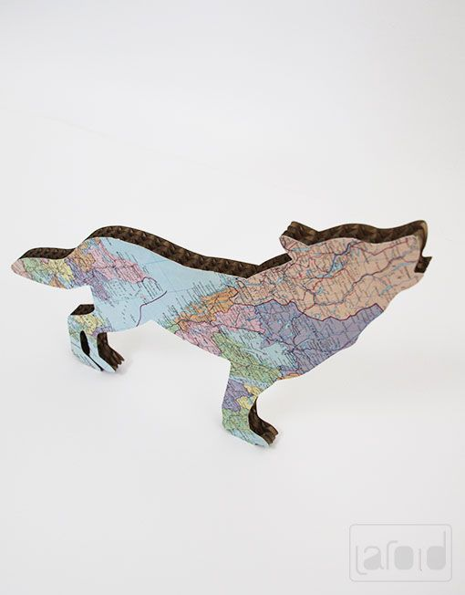 Laroid // Products of Laroid // Wolf Cardboard