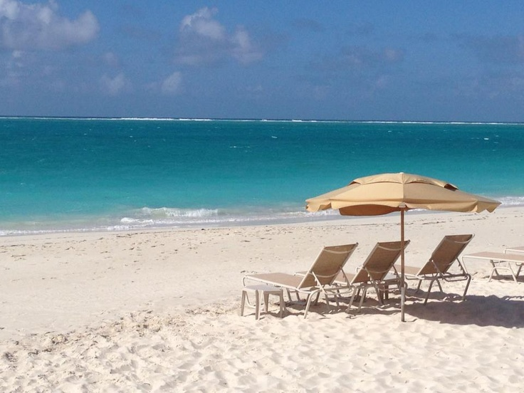 Gorgeous beach day at The Somerset on Grace Bay #resort, Turks and Caicos