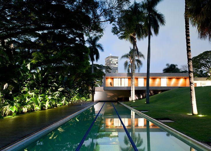 Casa Grecia by Isay Weinfeld  in São Paulo, Brazil.