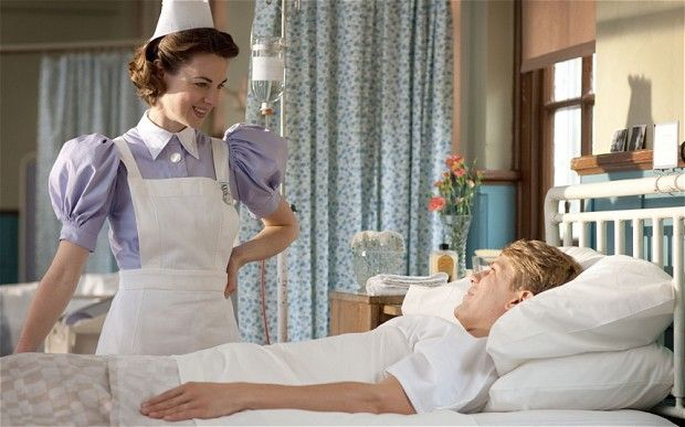 Lavender sleeves! Contains #midwifePBS Series 2 Spoiler. New season of Call the Midwife premieres Sunday, 3/31, at 9pm on KCTS 9.