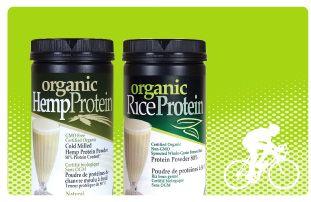 Organic, Vegan protein goodness!