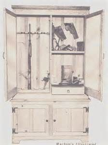Simple Gun Cabinet Woodworking Plans - The Best Image Search