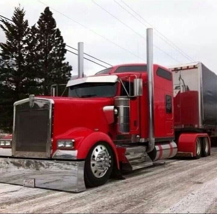 25 Best Images About Kenworth W900 On Pinterest
