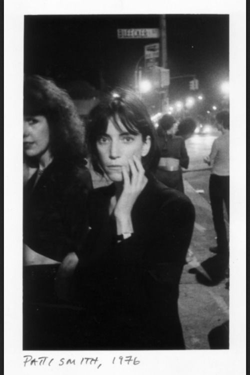 Patti Smith 1976.