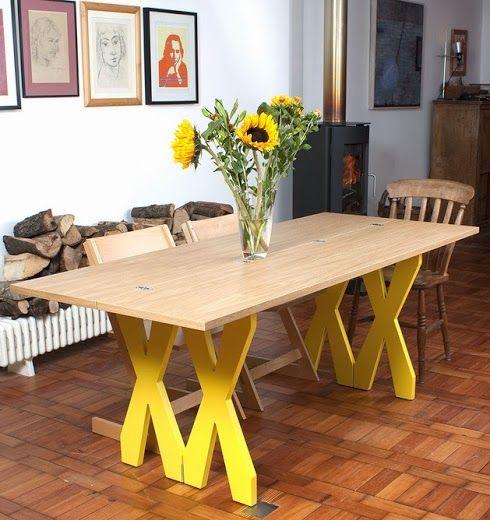 Table à manger pliable design et moderne decodesign / Décoration