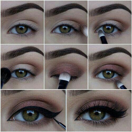 Luce espectacular con estas ideas de #MaquillajeParaOjos que te harán resaltar entre la multitud.