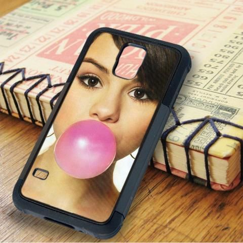 Selena Gomez Bibble Gum Singer Idol Samsung Galaxy S5 Case