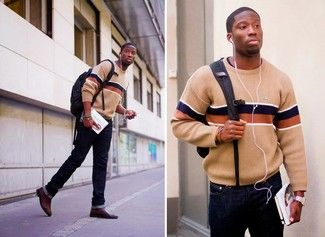 How to Wear Dark Brown Leather Chelsea Boots (29 looks) | Lookastic for Men