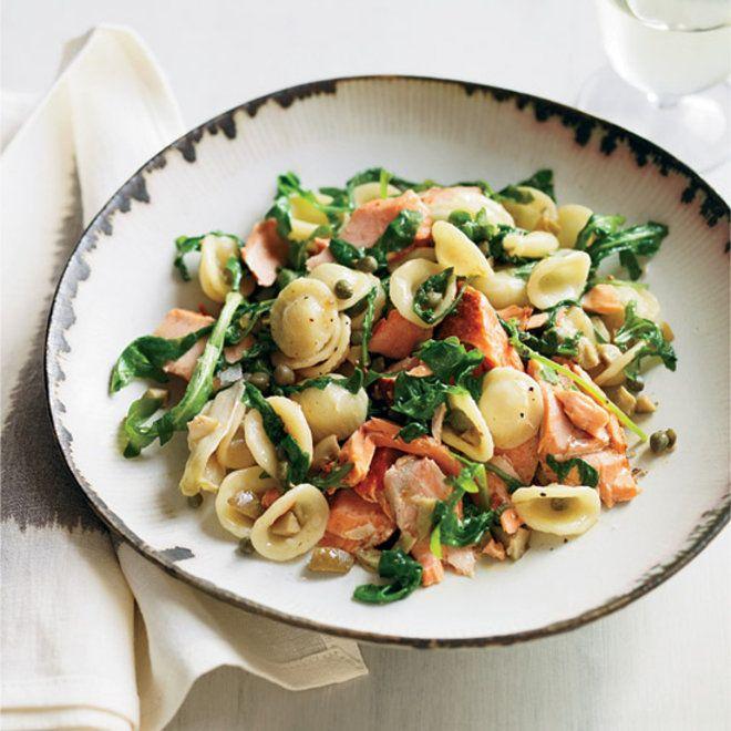 Pink salmon pasta salad recipe