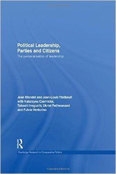 A book on political leaders with both a comparative element and country studies