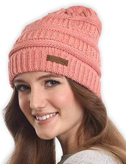 b722e50dbb1 Brook Bay Cable Knit Multicolored Beanie - Stay Warm