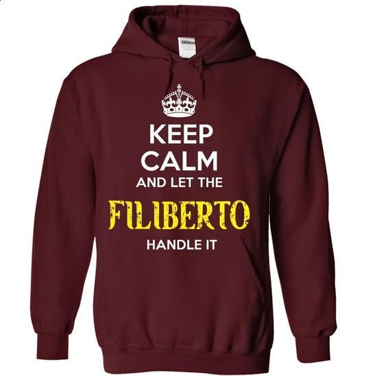 FILIBERTO - KEEP CALM AND LET THE FILIBERTO HANDLE IT - #shirt collar #silk shirt. PURCHASE NOW => https://www.sunfrog.com/Valentines/FILIBERTO--KEEP-CALM-AND-LET-THE-FILIBERTO-HANDLE-IT-55680223-Guys.html?68278