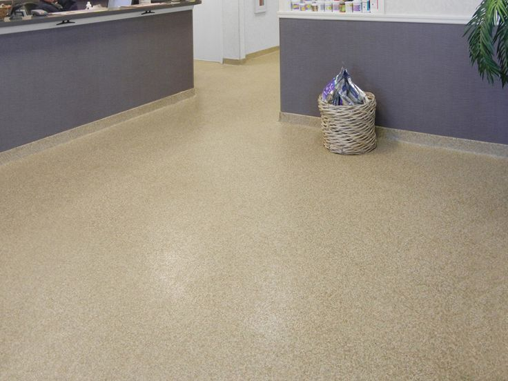 Everlast Floor Is A 100 Solid Epoxy Marble Chip And