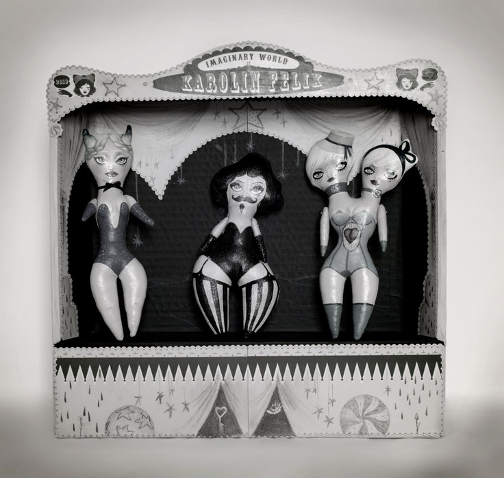 Paper Theatre - circus art sideshow