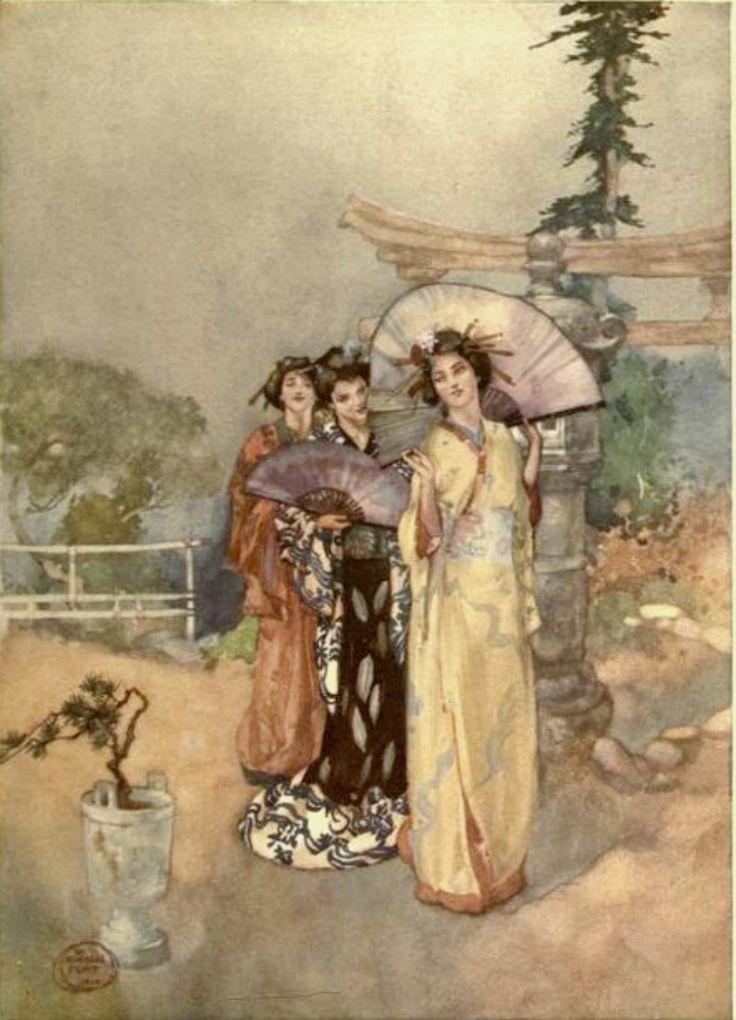 Russell Flint Original nude, le puit Paintings
