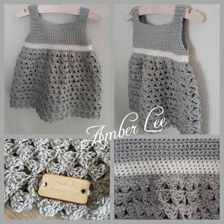 Een gratis Nederlands haakpatroon van een baby jurkje. Wil jij ook een leuk…