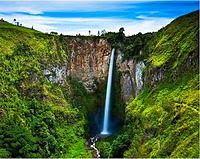 Air Terjun Sipiso-piso - Tongging - Sumatera Utara  - Wisata Alam