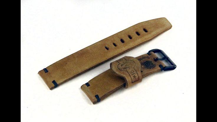 Handmade watch strap, T 927