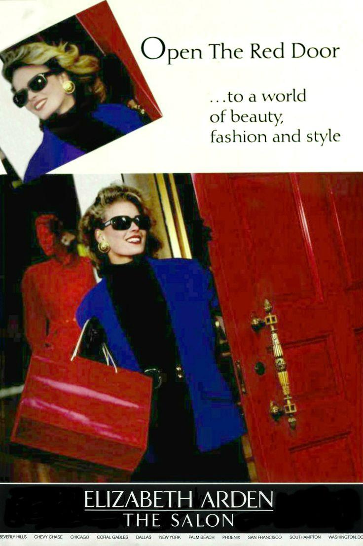 Vendela Kirsebom Elizabeth Arden 1989 Vogue Reddoorsalon Le