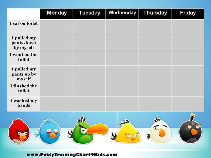 toilet training chart