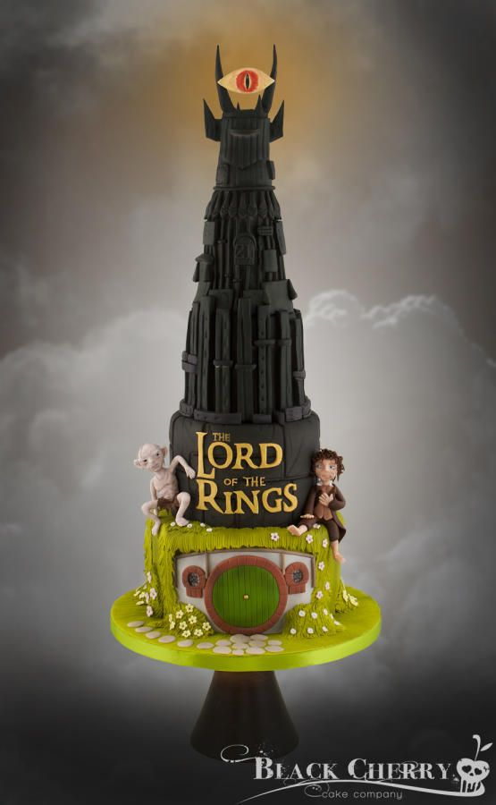 Lord Of The Ring Wedding Cake