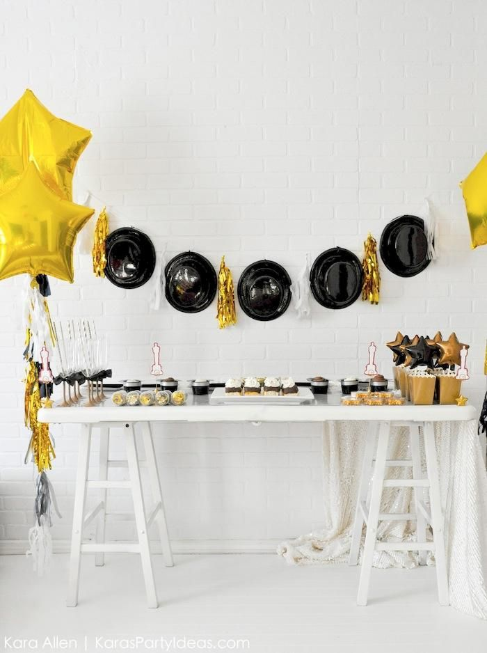 7 Best Images About Awards Party Decor Ideas On Pinterest