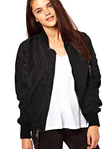 New Trending Outerwear: Yiyou Womens Classic Short Padded Bomber Jacket Coat Quilted Jacket (M, Black). Yiyou Women's Classic Short Padded Bomber Jacket Coat Quilted Jacket (M, Black)  Special Offer: $10.18  299 Reviews 4 Asian sizes available (S,M,L,XL) Asian Size S — US Size XS(4) — Shoulder 14.8inch — Sleeve 22.2inch — Chest 39inch — Waist 38.2inch...